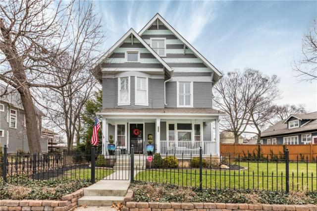 2143 N Delaware Street, Indianapolis, IN 46202 (MLS #21613761) :: Mike Price Realty Team - RE/MAX Centerstone