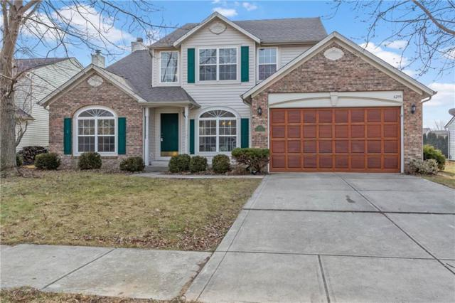 6293 Briargate Drive, Zionsville, IN 46077 (MLS #21613850) :: Mike Price Realty Team - RE/MAX Centerstone