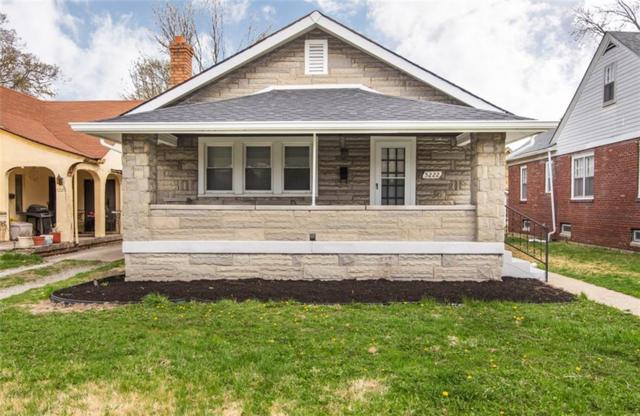 5222 E 10th Street, Indianapolis, IN 46219 (MLS #21613893) :: Mike Price Realty Team - RE/MAX Centerstone