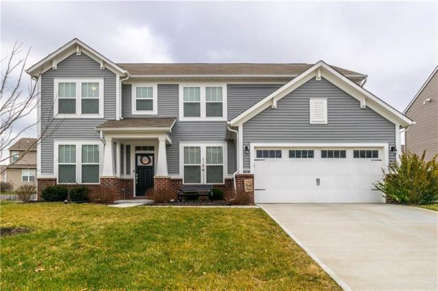 1551 Stormhaven Way, Greenwood, IN 46143 (MLS #21614146) :: Mike Price Realty Team - RE/MAX Centerstone