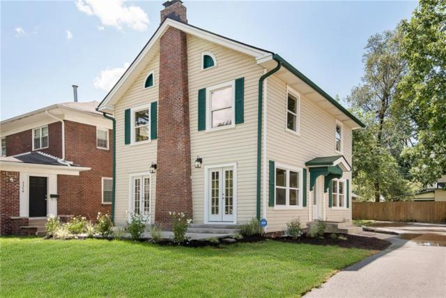 3362 Carrollton Avenue, Indianapolis, IN 46205 (MLS #21614364) :: Mike Price Realty Team - RE/MAX Centerstone