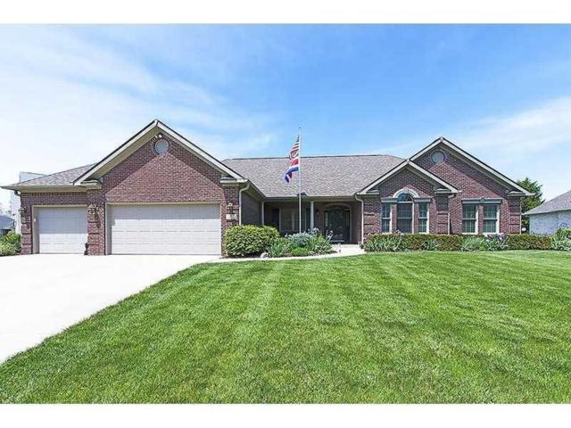 282 Hidden Glen Drive, Greenfield, IN 46140 (MLS #21614608) :: Mike Price Realty Team - RE/MAX Centerstone