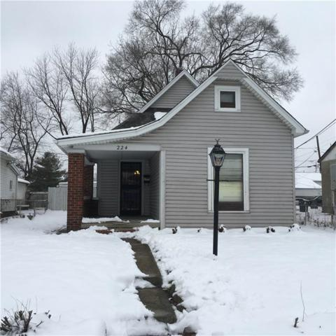 224 S Randolph Street, Indianapolis, IN 46201 (MLS #21614800) :: Mike Price Realty Team - RE/MAX Centerstone