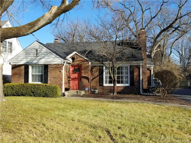 5695 N Illinois Street, Indianapolis, IN 46208 (MLS #21614846) :: The ORR Home Selling Team