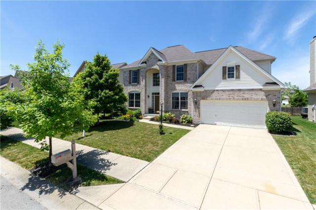 12078 Ashland Drive, Fishers, IN 46037 (MLS #21615094) :: Mike Price Realty Team - RE/MAX Centerstone