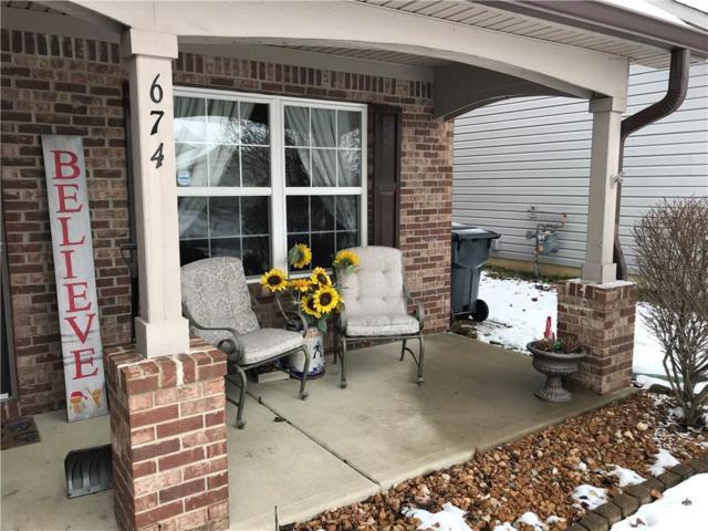 674 Bridgebend Run, Greenwood, IN 46143 (MLS #21615156) :: AR/haus Group Realty