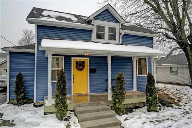 75 W Pearl Street, Greenwood, IN 46142 (MLS #21615346) :: Mike Price Realty Team - RE/MAX Centerstone
