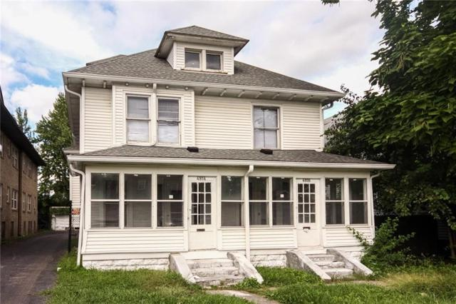4814 E Washington Street, Indianapolis, IN 46201 (MLS #21615950) :: Mike Price Realty Team - RE/MAX Centerstone