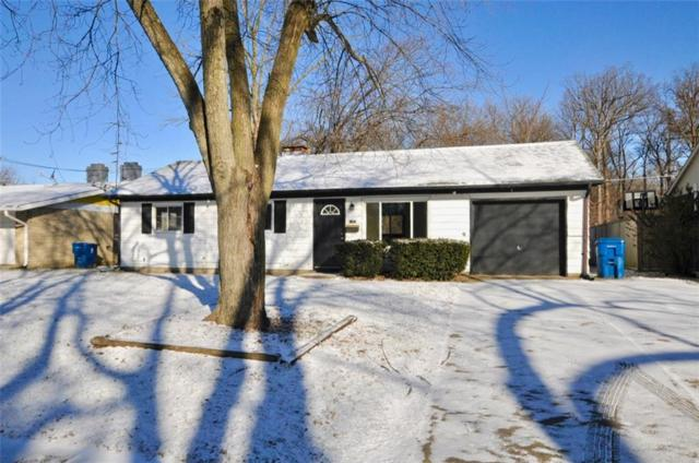 8124 E 37th Place, Indianapolis, IN 46226 (MLS #21616197) :: FC Tucker Company