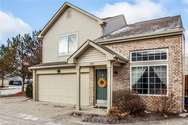 2241 Grand Fir Drive, Greenwood, IN 46143 (MLS #21616210) :: Richwine Elite Group