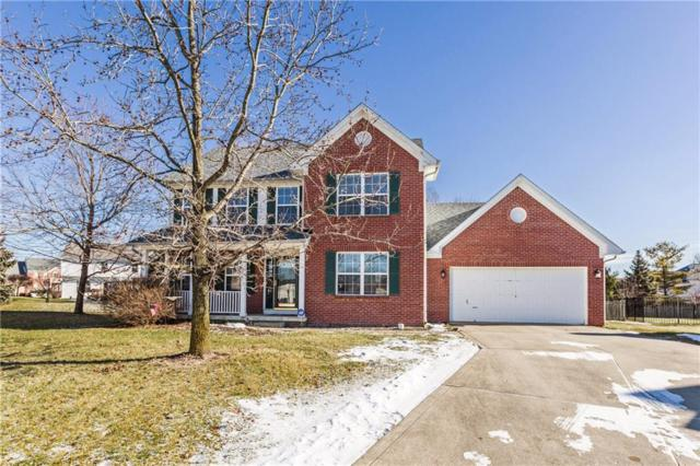 13863 Carolina Court, Fishers, IN 46038 (MLS #21616227) :: The ORR Home Selling Team