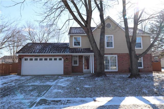 7605 Bayhill Drive, Indianapolis, IN 46236 (MLS #21616499) :: Mike Price Realty Team - RE/MAX Centerstone
