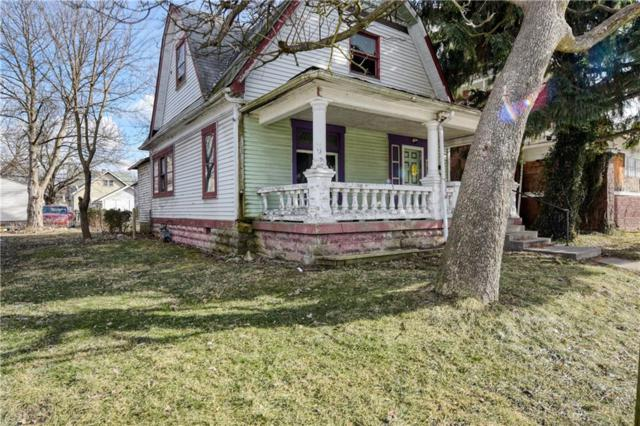 801 N Rural Street, Indianapolis, IN 46201 (MLS #21616591) :: The Indy Property Source