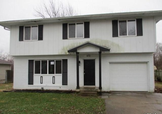 672 Holiday Drive, Fortville, IN 46040 (MLS #21616616) :: The Evelo Team
