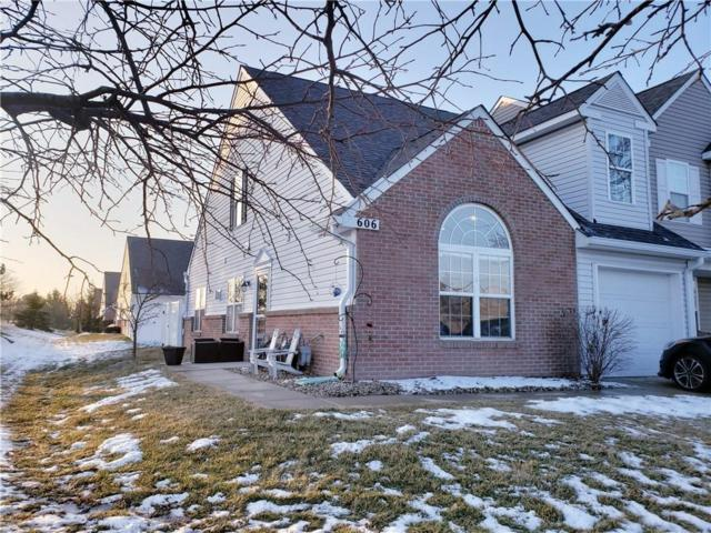 606 Daviess Drive, Westfield, IN 46074 (MLS #21616695) :: The Indy Property Source