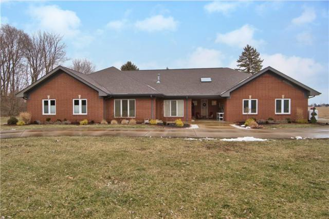 7227 N Lakeshore Drive, Greenfield, IN 46140 (MLS #21616767) :: FC Tucker Company