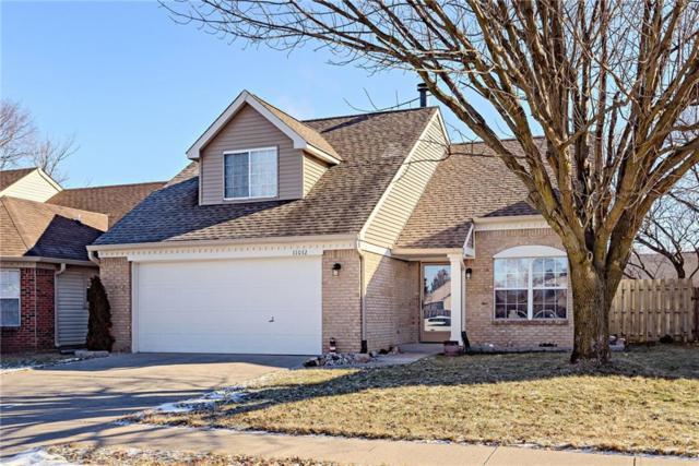 11012 Oakridge Drive, Fishers, IN 46038 (MLS #21616787) :: The ORR Home Selling Team