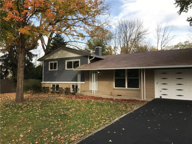 1337 Hathaway Drive, Indianapolis, IN 46229 (MLS #21616911) :: The ORR Home Selling Team
