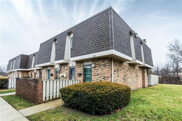 7417 Country Brook Drive, Indianapolis, IN 46260 (MLS #21617100) :: The Indy Property Source