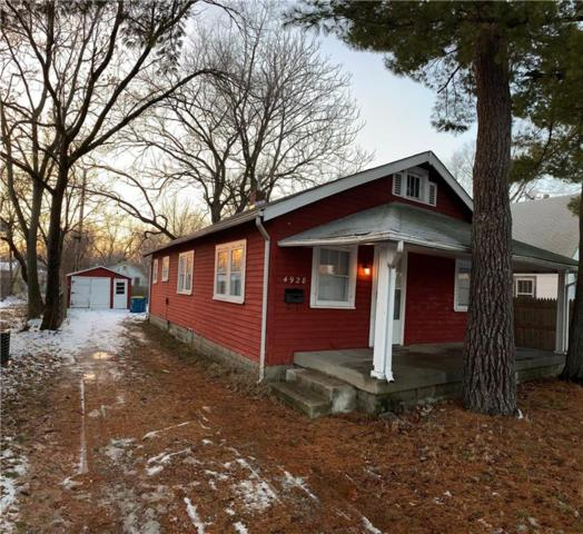 4928 Brouse, Indianapolis, IN 46205 (MLS #21617223) :: The ORR Home Selling Team