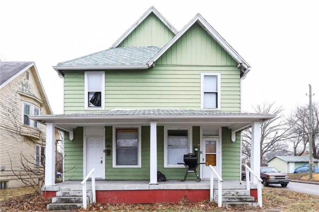 1036-1038 N Tuxedo Street, Indianapolis, IN 46201 (MLS #21617241) :: Mike Price Realty Team - RE/MAX Centerstone