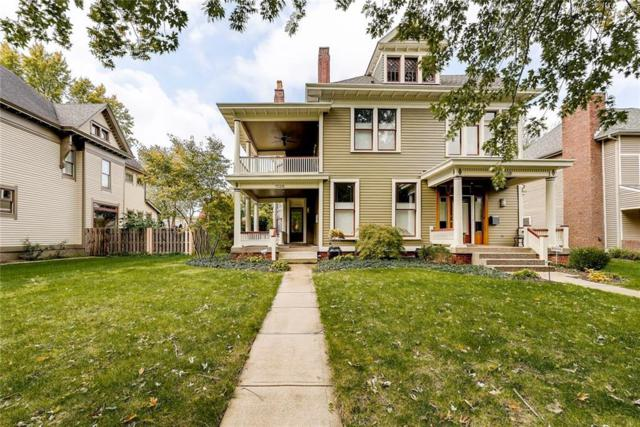 1526 N Park Avenue, Indianapolis, IN 46202 (MLS #21617328) :: The Indy Property Source