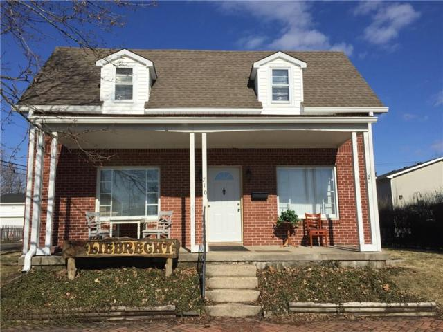 710 W Chicago Street, Lebanon, IN 46052 (MLS #21617430) :: Mike Price Realty Team - RE/MAX Centerstone