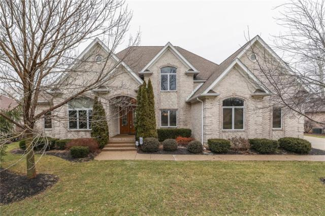 4717 Hickory Wood Row, Greenwood, IN 46143 (MLS #21617626) :: The ORR Home Selling Team