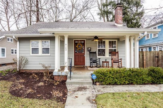 5109 Guilford Avenue, Indianapolis, IN 46205 (MLS #21617744) :: Richwine Elite Group