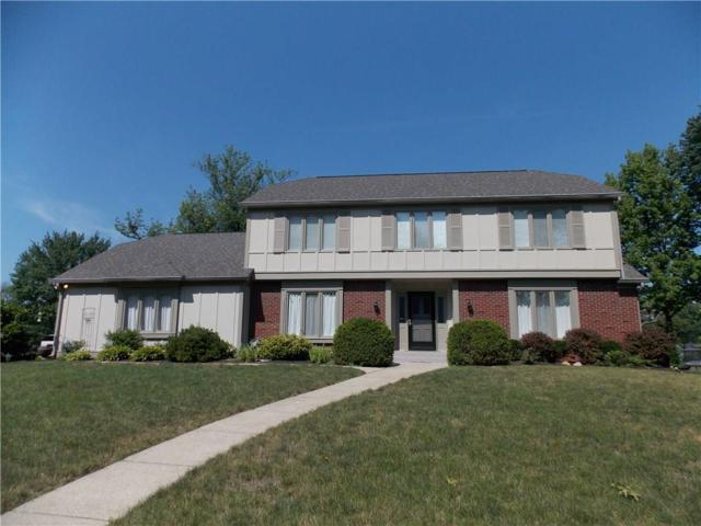 6614 Albion Drive, Indianapolis, IN 46256 (MLS #21618155) :: The ORR Home Selling Team
