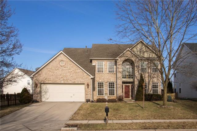 8371 Bent Oak Drive, Indianapolis, IN 46236 (MLS #21618512) :: The Evelo Team