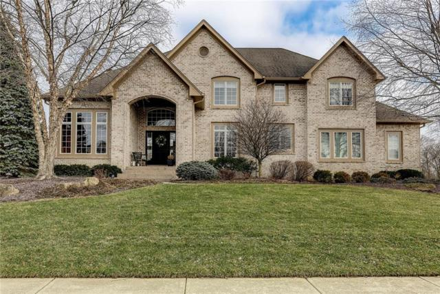 16145 Brookhollow Drive, Westfield, IN 46062 (MLS #21618653) :: The Evelo Team