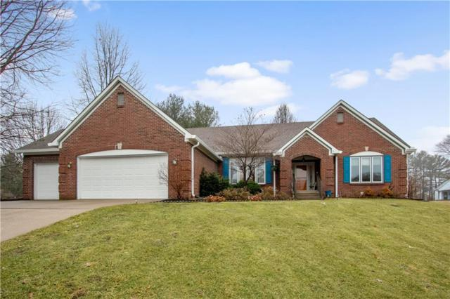 5503 Station Hill Drive, Avon, IN 46123 (MLS #21618785) :: The Evelo Team