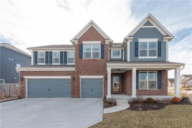 1312 Trailside Drive, Greenwood, IN 46143 (MLS #21618951) :: The Indy Property Source