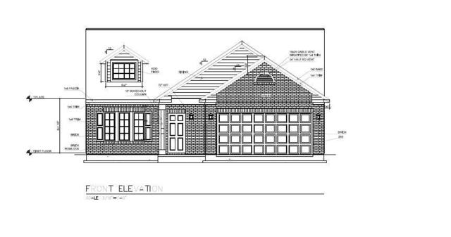 8414 Ambrosia Lane, Ingalls, IN 46048 (MLS #21619119) :: The ORR Home Selling Team