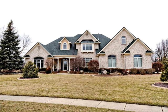 1337 Wood Sage Drive, Avon, IN 46123 (MLS #21619149) :: The Indy Property Source