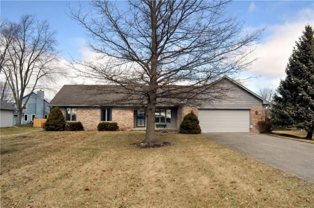 510 N Buck Creek Road, Greenfield, IN 46140 (MLS #21619380) :: The Evelo Team