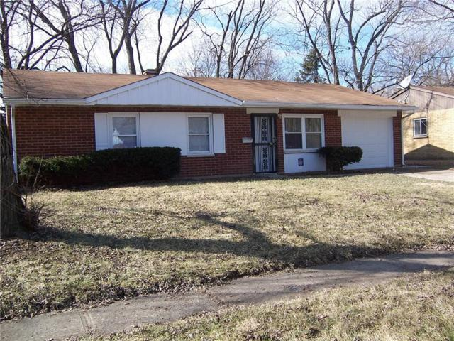 4014 Downes Drive, Indianapolis, IN 46235 (MLS #21619412) :: Richwine Elite Group