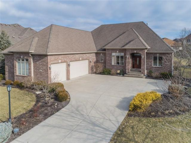 10858 Harbor Bay Drive, Fishers, IN 46040 (MLS #21619519) :: Mike Price Realty Team - RE/MAX Centerstone