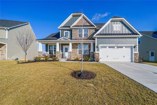 13520 Davenport Drive, Fishers, IN 46037 (MLS #21619602) :: AR/haus Group Realty