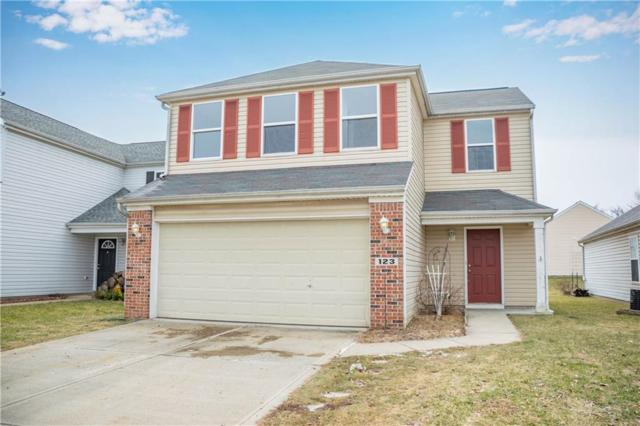 123 Village Green Drive, Indianapolis, IN 46227 (MLS #21619665) :: The Evelo Team