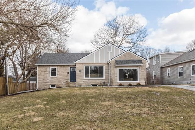 5909 N Illinois Street, Indianapolis, IN 46208 (MLS #21619928) :: The ORR Home Selling Team