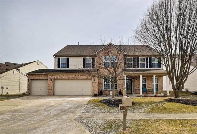 1502 Old Thicket Court, Greenwood, IN 46143 (MLS #21622130) :: Mike Price Realty Team - RE/MAX Centerstone