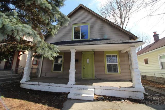 617 N Euclid Avenue, Indianapolis, IN 46201 (MLS #21622229) :: Urhome Group