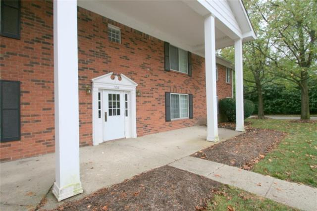 6514 Park Central Way D, Indianapolis, IN 46260 (MLS #21622240) :: AR/haus Group Realty