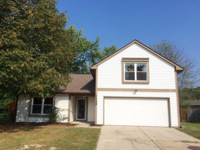 7248 Eagle Bay North Drive, Indianapolis, IN 46254 (MLS #21622623) :: Mike Price Realty Team - RE/MAX Centerstone