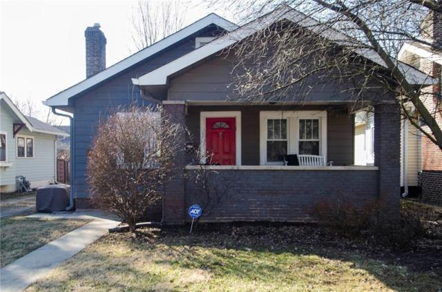 5314 N College Avenue, Indianapolis, IN 46220 (MLS #21623250) :: Mike Price Realty Team - RE/MAX Centerstone