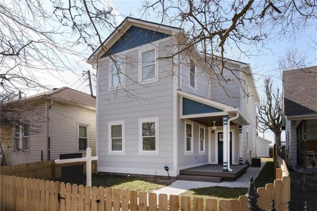 1442 Kennington Street, Indianapolis, IN 46225 (MLS #21623409) :: Mike Price Realty Team - RE/MAX Centerstone