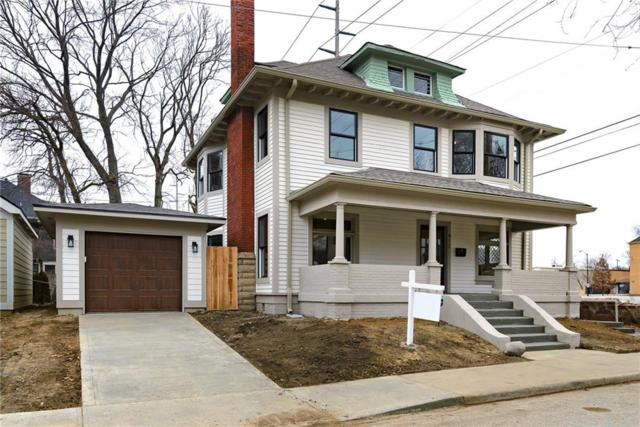 412 E 21st Street, Indianapolis, IN 46202 (MLS #21623410) :: AR/haus Group Realty