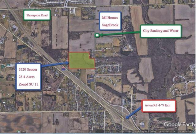 5520 Senour Road, Indianapolis, IN 46239 (MLS #21623584) :: David Brenton's Team